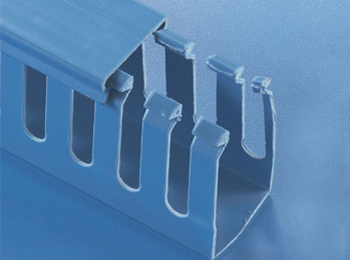 蓝灰色绝缘配线槽